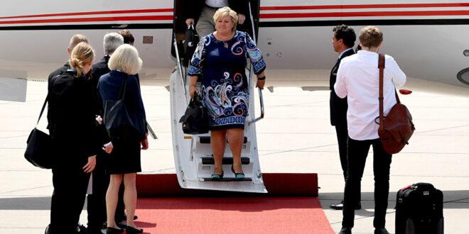 تغريم رئيسة حكومة النرويج 20 ألف كرونة لانتهاكها قيود كورونا