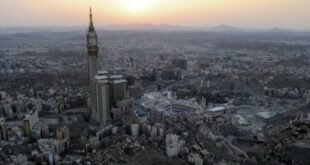 رائد فضاء ياباني ينشر صورة لمكة المكرمة من السماء