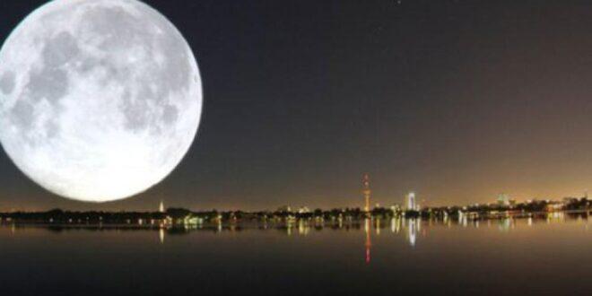 """ظواهر فلكية عديدة في نيسان.. و""""القمر العملاق"""" للمرة الأولى هذا العام"""
