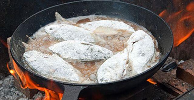 لمنع إلتصاق السمك في المقلاة