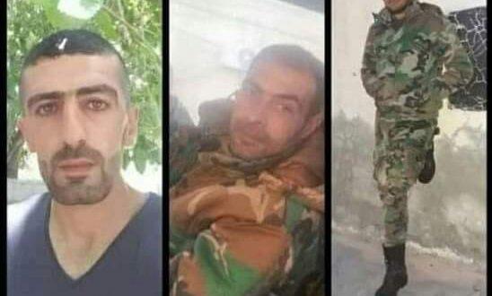 استشهاد 3 ضباط سوريين في كمين في درعا