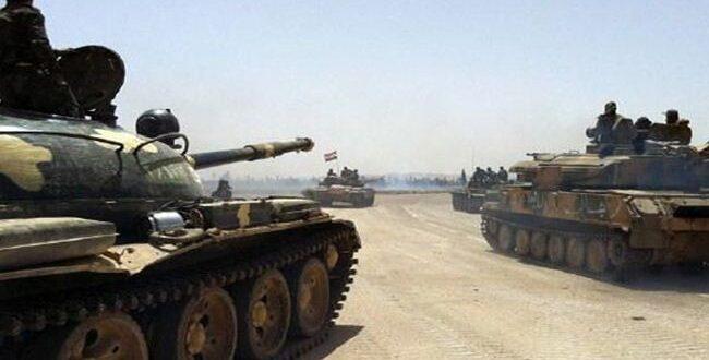 تحركات عسكرية للجيش السوري بالقرب من المناطق التي تسيطر عليها القوات الأمريكية