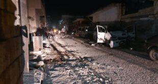 """""""انفجار مزدوج"""" يضرب جرابلس بريف حلب"""