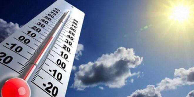 الأرصاد الجوية: الحرارة أعلى من معدلاتها ب10 درجات