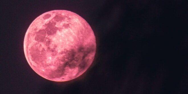استعدوا لرؤية القمر الزهري العملاق في رمضان بتاريخ 26 نيسان