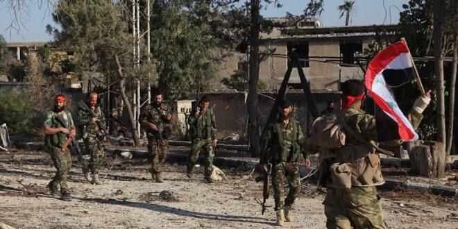 """اشتباكات عنيفة بين قوات """"الدفاع الوطني"""