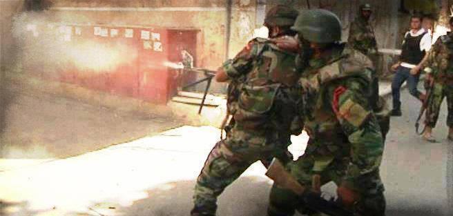 قوات سورية تسيطر على مقرات لقسد بعد