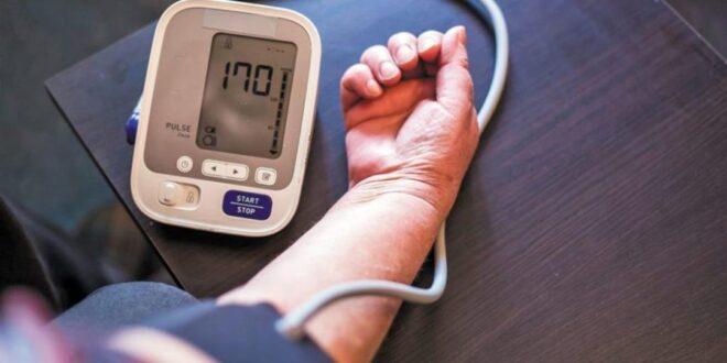 لخفض قراءة ضغط الدم المرتفع