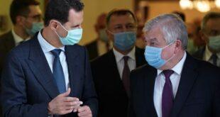 الرئيس الأسد يلتقي مبعوث بوتين في دمشق.. العمل لتخفيف آثار العقوبات على سوريا
