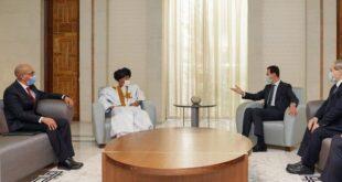 الرئيس الأسد يتسلم أوراق اعتماد سفيرين جديدين لدولة عربية وأخرى لاتينية