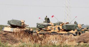 تركيا تبدأ ببناء حدود على عمق 32 كم داخل سوريا