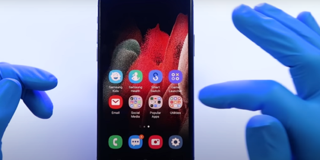 تطبيق جديد من سامسونغ يحوّل آيفون إلى جهاز شبيه بأجهزة Galaxy!