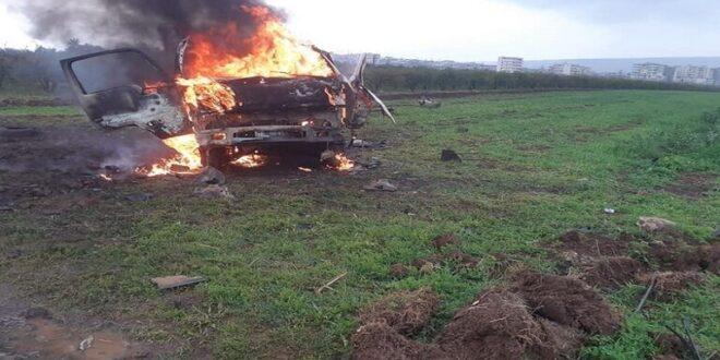 انفجار سيارة مفخخة في ريف حلب وأنباء عن ضحايا