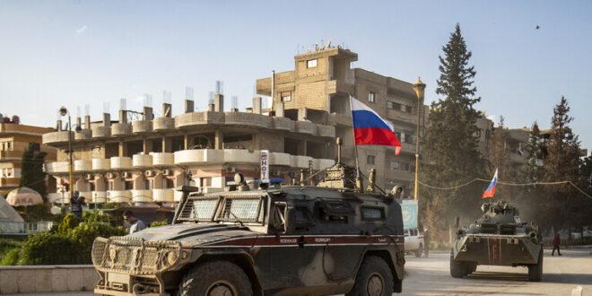سوريا.. الشرطة العسكرية الروسية تسيّر دوريات في القامشلي لضمان وقف الاشتباكات