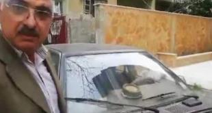 سوري يخترع سيارة تسير بالماء ويقودها في جبلة!