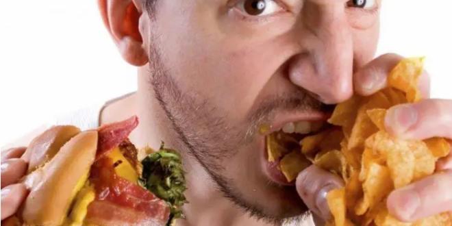 تناول الطعام في حالات الغضب