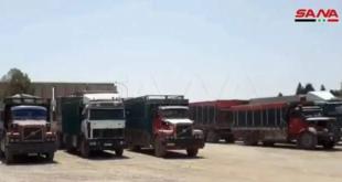 الاحتلال الأميركي يسرق كمية جديدة من القمح السوري