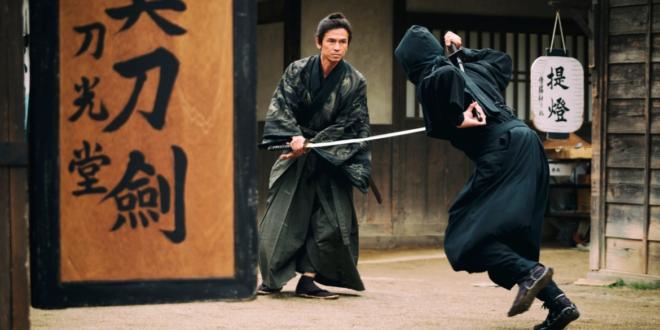 محاربي النينجا ومقاتلي الساموراي