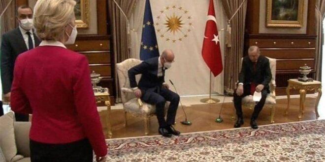 موقف محرج لمسؤولة أوروبية يفجر أزمة دبلوماسية