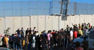 إصابة متظاهرين لبنانيين برصاص الجيش الإسرائيلي عند الجدار الفاصل جنوبي لبنان