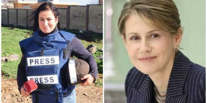 اعلامية سورية تتحدث عن اتصال مفاجئ من السيدة الأولى أسماء الأسد.. ما تفاصيله؟