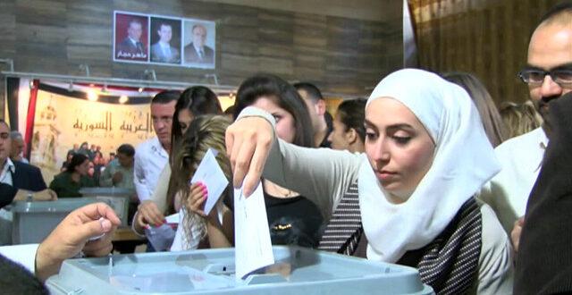 الانتخابات الرئاسية في سورية تشعل