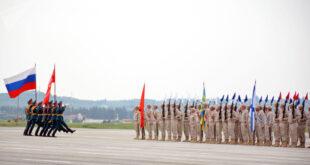 الجيشان الروسي والسوري يطلقان صيحات النصر على شاطئ المتوسط.. شاهد!