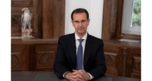 الرئيس الأسد يتوجه للشعب السوري بكلمة متلفزة: الرسالة إلى الأعداء وصلت
