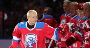 بوتين يشارك في مباراة لهوكي الجليد.. شاهد!