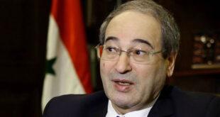 وزير الخارجية السوري: اسألوا السعودية عن موعد افتتاح سفارتها في دمشق