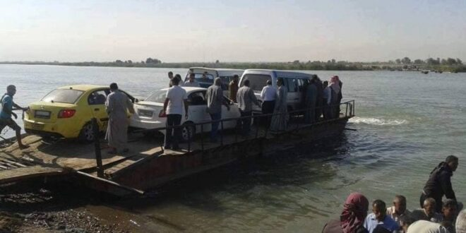قوات سوريا الديمقراطية تغلق المعابر النهرية مع مناطق الحكومة السورية