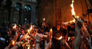 كيف تنقل النار المقدسة من القدس إلى روسيا دون أن تنطفئ؟