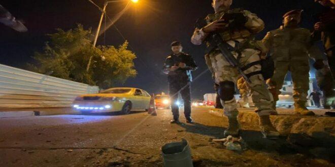 هجوم صاروخي على قاعدة تضم جنودا أمريكيين ببغداد