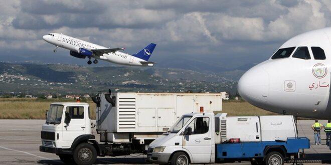 طائرة إماراتية رابعة تحط في مطار دمشق.. ما الذي تحمله؟