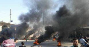 مظاهرات ضد الجيش الأمريكي شرقي سوريا