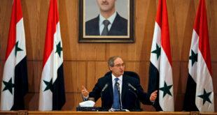 وزير الخارجية السوري: زيارة ظريف مهمة