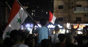 احتفالات في لبنان بفوز الرئيس الأسد بالرئاسة السورية