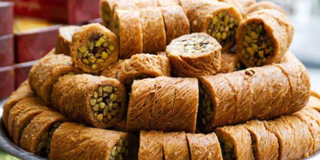 كيلو الحلويات العربية في دمشق يعادل