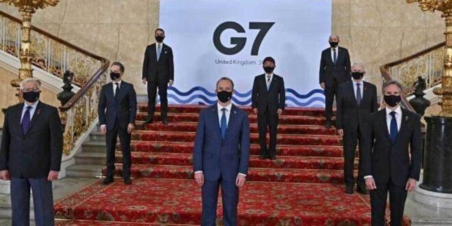 مجموعة الدول السبع تحدد ثلاث طلبات من دمشق