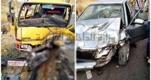 إصابات بحادث سير في دمشق