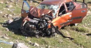 إصابة أب وابنه نتيجة تدهور سيارتهم بريف دمشق