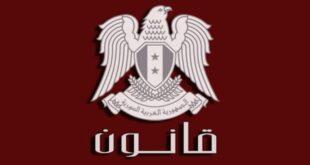 إعفاءات غير مسبوقة لجذب المستثمرين.. الرئيس الاسد يصدر قانون الاستثمار الجديد
