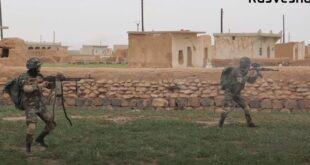 تدريبات مشتركة بالذخيرة الحية بين قوات روسية وقوات الجيش السوري