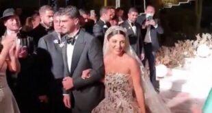 زفاف أسطوري لابنة رجل اعمال سوري