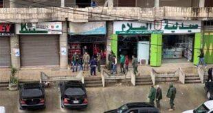 تجدد الاعتداء على السوريين في محالهم التجارية بلبنان