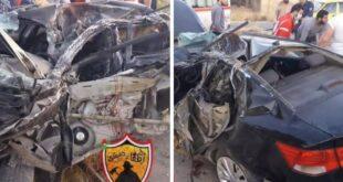 3 وفيات وإصابتين.. حادثا سير على طريق المطار في دمشق