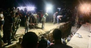 مقتل عاملين سوريين وجرح لبناني بانهيار أتربة على طريق عام برج العرب