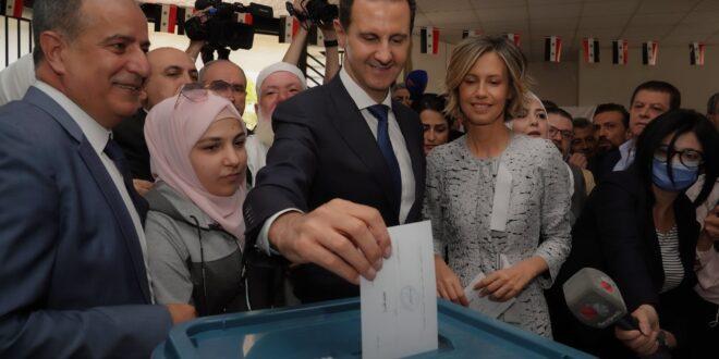 الرئيس الأسد للدول الغربية: قيمة آرائكم عن الانتخابات السورية صفر
