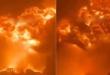 دمار كبير وحريق في مدينة أسدود بعد استهدافها بالصواريخ