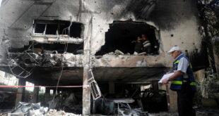 200 صاروخ من غزة على عسقلان وبئر السبع وإسدود